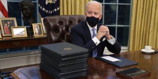 Biden's Executive Order Frenzy