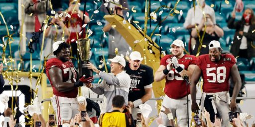 Alabama Wins 6th Championship in Saban Era