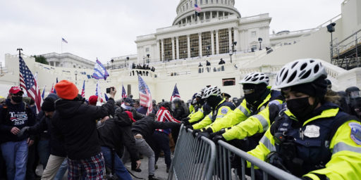 Trump Refused to Call Off Capitol Rioters