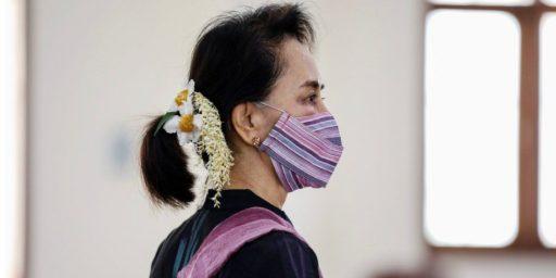Burma Military Coup Ousts Suu Kyi