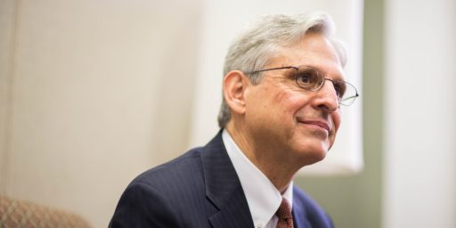 Merrick Garland Ready to Take on Domestic Extremists