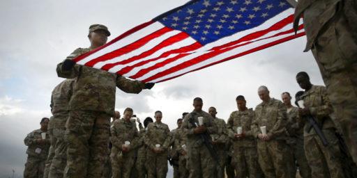 Americans Sneak Out of Bagram in Darkness