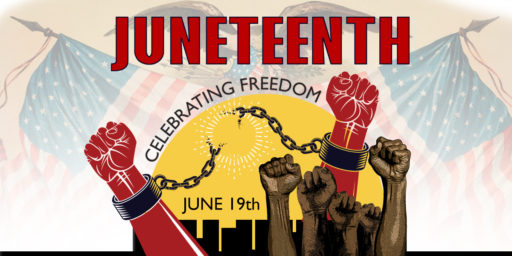 Juneteenth to be National Holiday