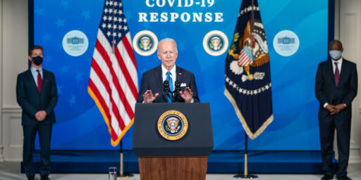 Biden Orders Feds, Firms to Vaccinate