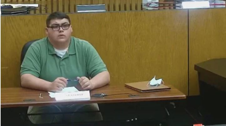 Hunter Pepper, 19, speaks at a Decatur, Ala., city council meeting. (City of Decatur/YouTube)