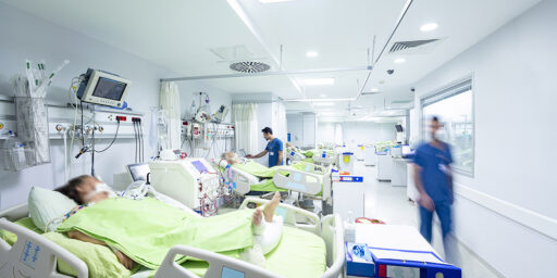COVID Overwhelming ICU Beds