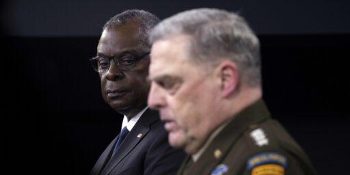 Defense Blames State for Afghan Fiasco